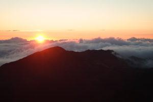 Sonnenaufgang auf Maui