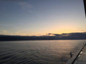 Sonnenaufgang auf den Azoren