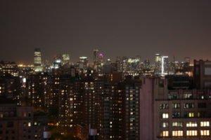 Blick nach New Jersey