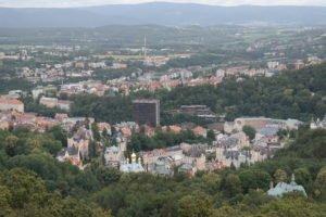 Blick über Karlsbad