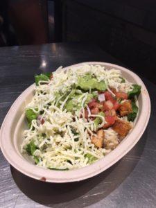 Chipotle Salat