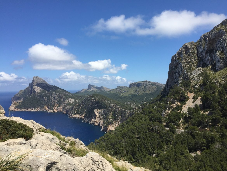 Ausblick Cap Formentor