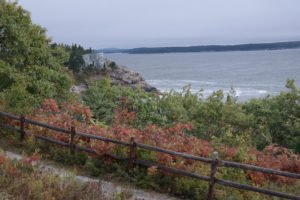 Aussichtspunkt im Acadia Nationalpark