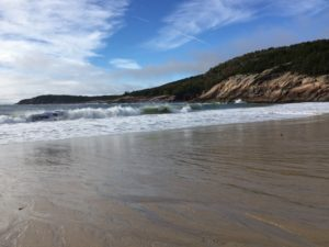 Sand Beach Acadia Nationalpark