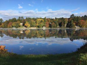 Blick vom Haus am See