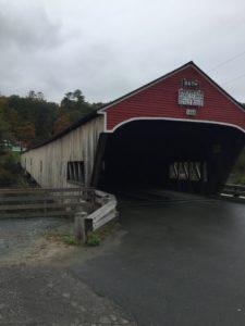 Überdachte Brücke Vermont