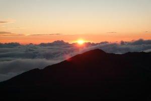 Sonnenaufgang Maui