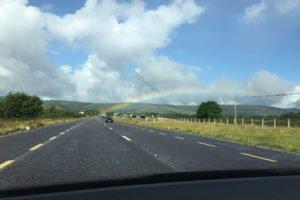 Mietwagen Irland Regenbogen